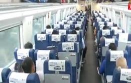男子列车上突发脑梗 乘客列车员接力救助