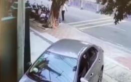 車主停車充電忘拔鑰匙 過路男子換裝盜車被抓
