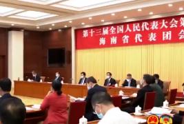 沈晓明在审议政府工作报告时表示:结合海南实际切实抓好报告的贯彻落实