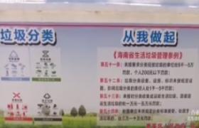 海口垃圾分类:试点居民参与度提升 垃圾分类知识需掌握
