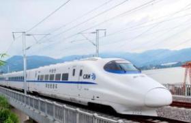 中国高铁八纵八横已建七成 相邻大中城市1-3小时到达