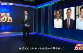 """自贸港""""云""""对话(46):发挥QFLP效应 吸引外资抢滩自贸港"""