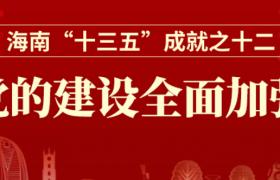 """一图读懂丨海南""""十三五""""成就之十二:党的建设全面加强"""