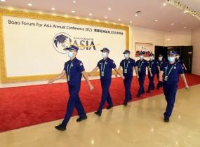 海南圆满完成博鳌亚洲论坛2021年年会消防安保任务