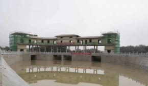 海南省红岭灌区工程充水试验圆满成功