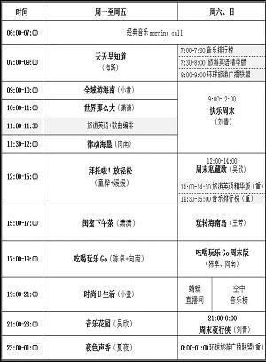 节目单0925