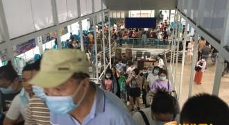 """国庆""""黄金周""""圆满收官,海南铁路轮渡北港发送旅客35915人次、汽车11044辆"""