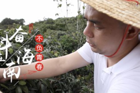 奋斗在海南 不负青春丨陈槐柏:电商进村助扶贫 农民增收奔小康