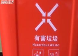 垃圾分类:有害垃圾专项收运暂存 分拣再归类可避免污染