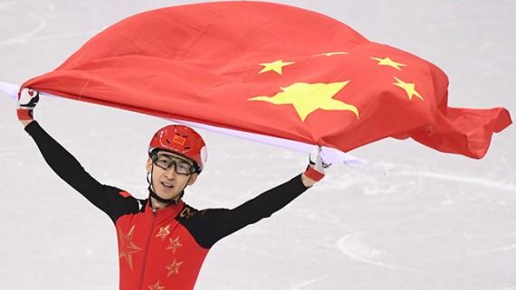 冬奥会丨短道速滑男子500米:武大靖破世界纪录夺冠