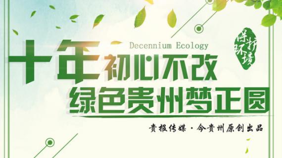 【图说】十年初心不改 绿色贵州梦正圆