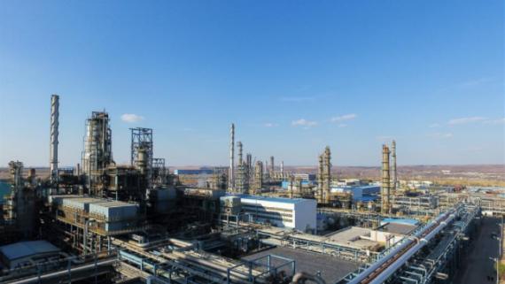 """打造高质量发展""""绿色引擎""""——走近我国首个百万吨级煤直接制油示范工程"""