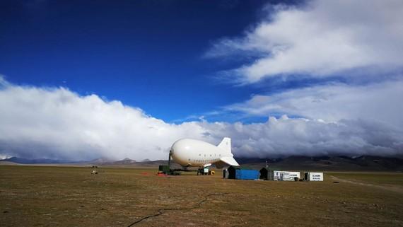 我国自主研发?#21335;?#30041;浮空器成功挑战海拔7000米高空探测世界纪录