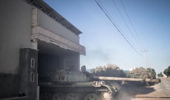 联合国利比亚问题特别代表警告?#36947;?#28626;于全面内战边缘