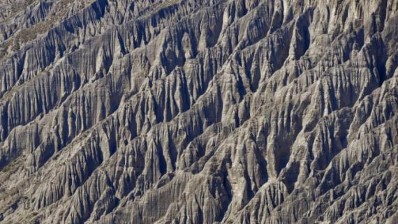 独山子大峡谷 鬼斧神工的流水侵蚀奇观