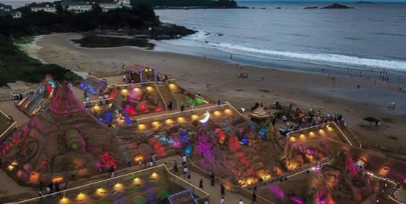 舟山国际沙雕节开幕