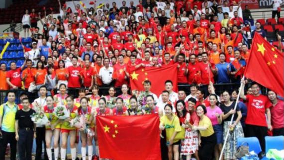 好样的!中国女排U23亚锦赛夺冠