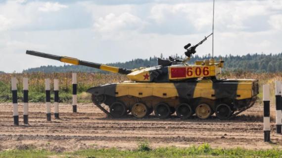 """中国""""坦克两项""""参赛队在""""国?#31034;?#20107;?#28909;?2019""""中首赛告捷"""