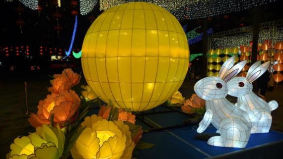 香港舉辦中秋彩燈會