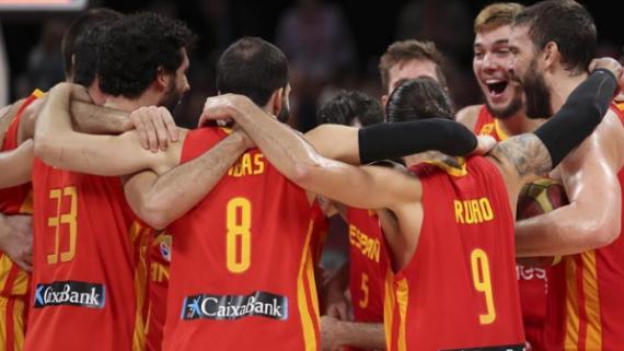 【籃球世界杯】西班牙隊奪冠