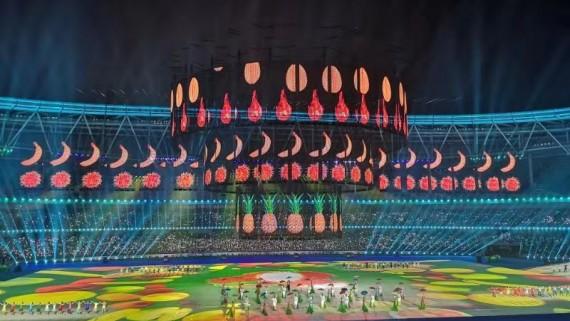 第十一届全国少数民族传统体育运动会:海南代表团共获得1个一等奖,10个二等奖,21个三等奖