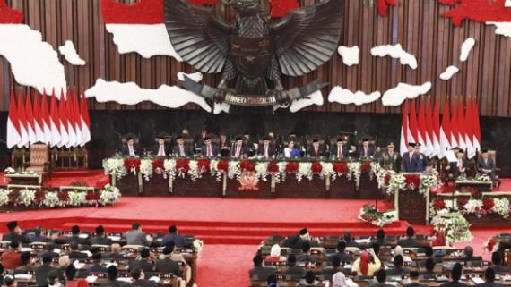 印尼总统佐科就职