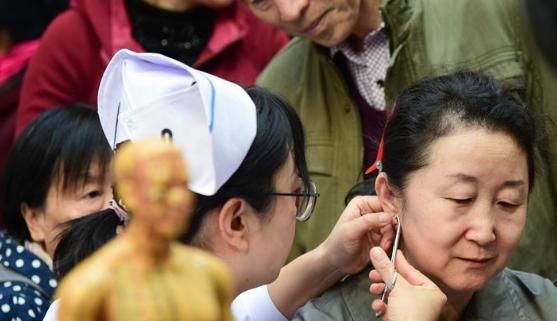世界传统医药日:体验中医文化