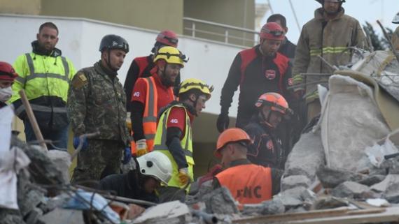 阿尔巴尼亚地震死亡人数升至21人