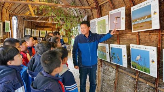 北戴河青少年鸟类科普实践教育基地——生态知识的殿堂