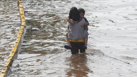 印尼洪災已造成16人死亡