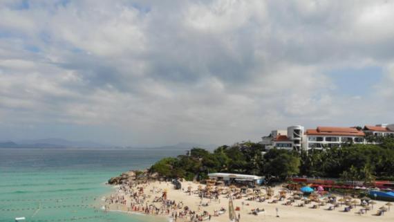 海南:冬季旅游熱