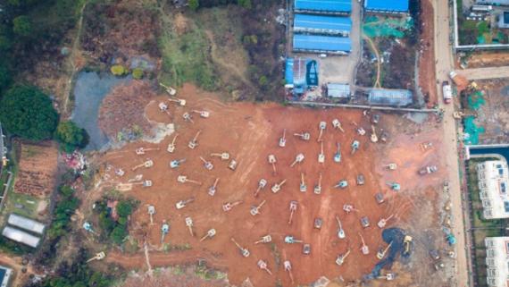 """武汉版""""小汤山""""新医院火神山医院计划于2月3日建成"""
