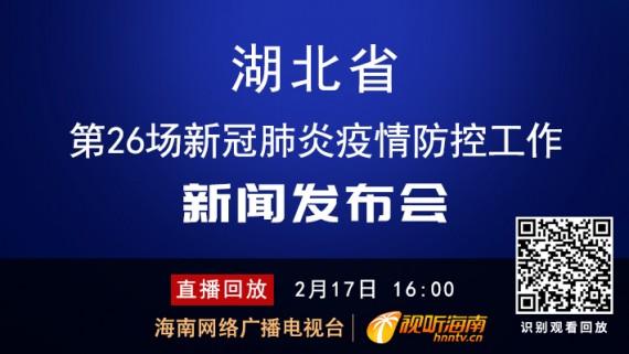 回看:湖北省第29场新冠肺炎疫情防控工作新闻发布会