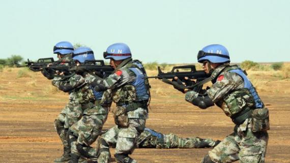 我们为和平而来——中国维和官兵代表访谈录