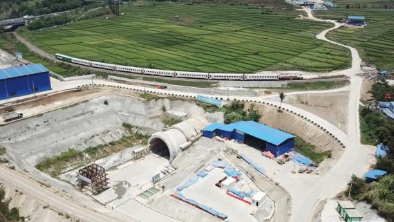 雅万高铁建设实现两项重要进展