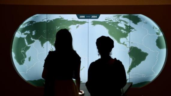 """香港科学馆推出全新展厅""""地球科学厅"""""""