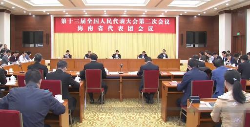 积极建言献策 海南代表团向大会提交议案8件 建议50件