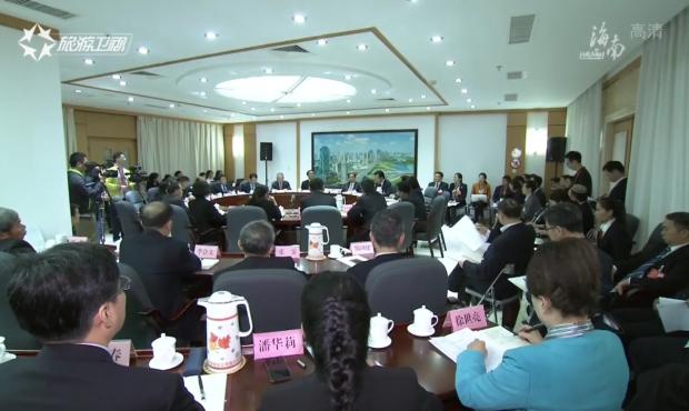 刘赐贵在海口代表团参加审议时指出 坚持全省一盘棋、全岛同城化推动高质量发展