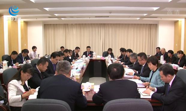 沈晓明在参加文昌 三亚 三沙代表团审议时指出 在抓落实补短板促民生上下功夫 做好政府工作