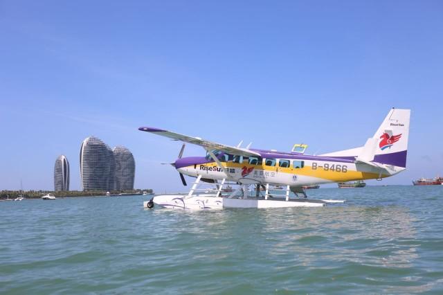 水上飞机+游艇+邮轮 海天一色玩转三亚三沙