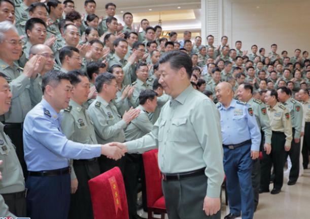 习主席在视察军事科学院时的重要讲话在全军和武警部队引起强烈反响