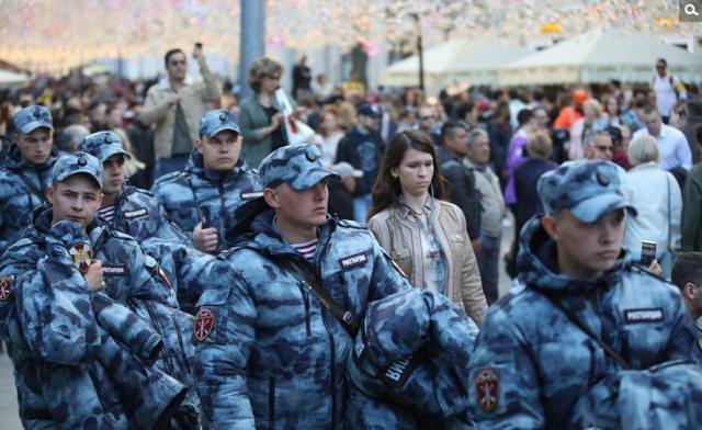 战斗民族保护下的世界杯,俄罗斯世界杯安保堪比反恐演习!