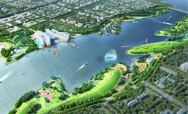 十年长出一座绿色新城