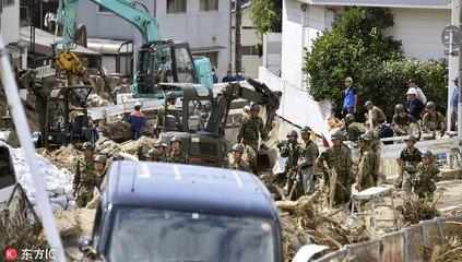 日本暴雨遇难人数升至200人 暂无中国公民伤亡报告
