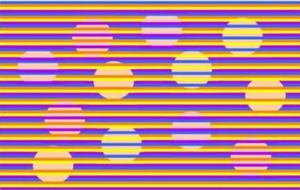光学幻觉测试:你看到的圆圈其实都是一个颜色
