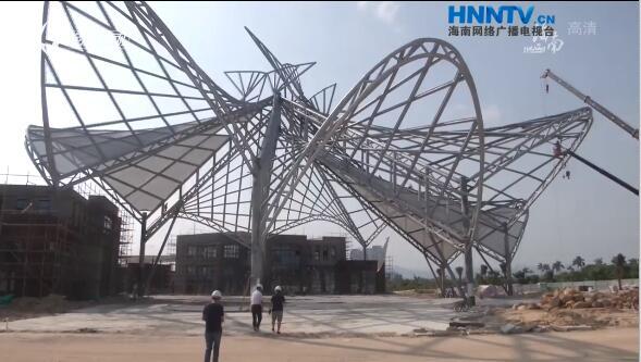 国庆黄金周·节日坚守:海南重点项目抢抓施工黄金期加快建设