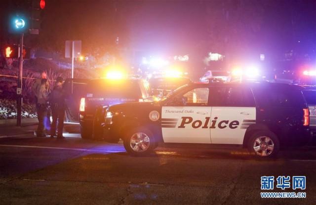 美加州酒吧枪击事件至少13人死亡 包括枪手