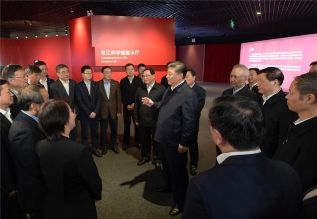 坚定信心决心 改革开放再出发——习近平总书记考察上海在上海干部群众中引起热烈反响