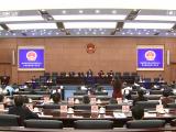 省六届人大常委会第八次会议闭会 决定省六届人大二次会议召开时间调整为明年1月27日至31日