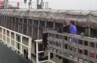 外籍船员突发疾病昏迷 海上生命接力就此展开